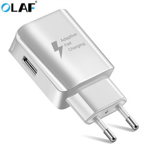Buy Olaf Travel Quick Charge Adapter Wall Portable US/UK/EU USB Wall Charger Mobile Phone Charger iPhone 7 Samsung S8 Tablet for $3.99 in AliExpress store