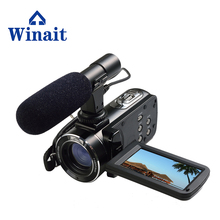 "Winait HDV-Z20 1080P Full HD WiFi Digital Video Camera 3.0"" LCD Touch screen 24 MP 16x Digital Zoom Professional Camcorder(China)"