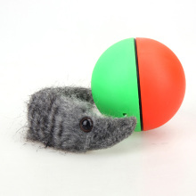 Pet Rolling Ball Funny Alive Dog Cat Animal Weasel Jumping Moving Rolling Motor Ball Pet Toy Kids Children Balls(China)