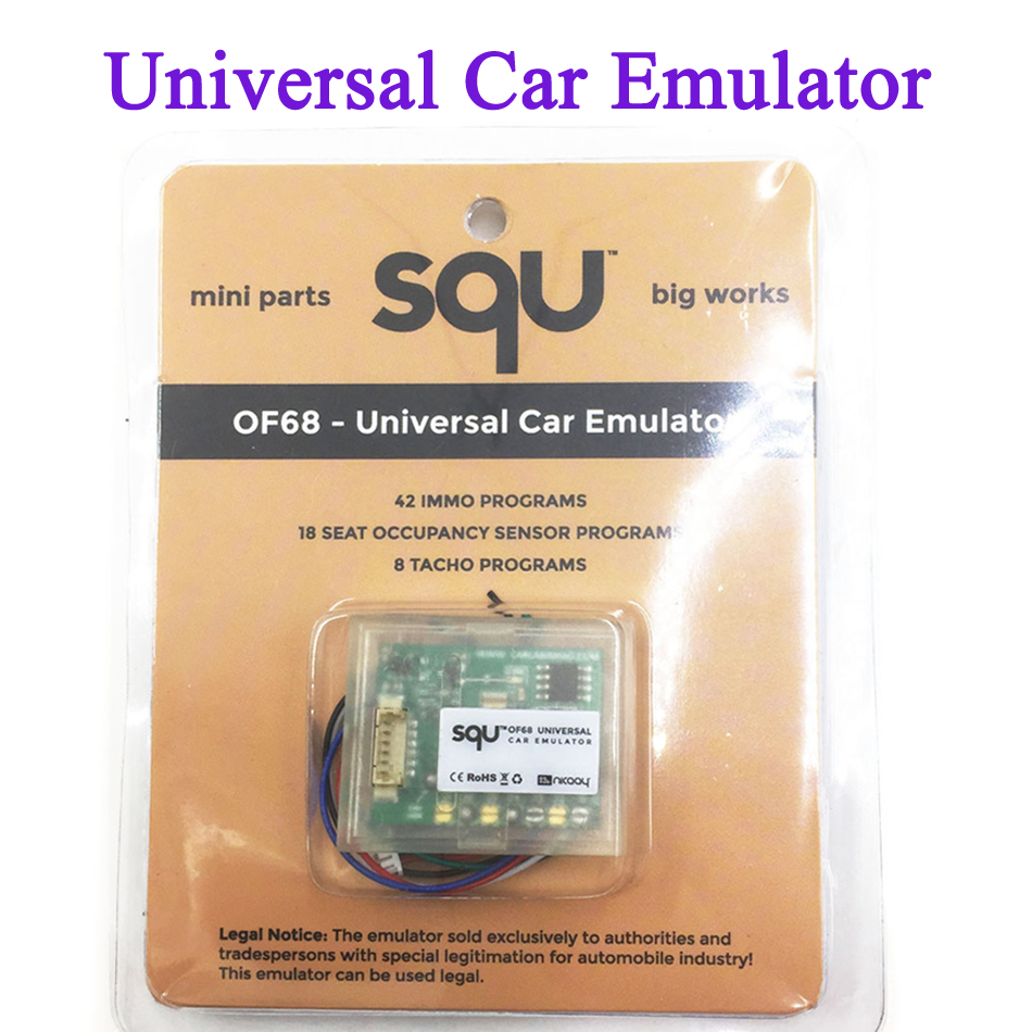 2016 Newest SQU OF68 UNIVERSAL CAR EMULATOR Mini Parts Big Works OF68 Universal Emulator For VW and Others free shipping(China (Mainland))