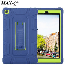 For Amazon New Kindle Fire HD 8 2016 Case Drop resistance Shockproof Kid Safe Rugged Armor Impact Silicon + PC Hard Table Cover