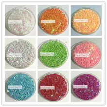 100g(15000pcs) 3mm Lovely Hollow heart PVC loose Sequins Paillettes for Nail Art manicure/sewing/wedding decoration confetti
