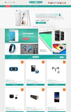 小小设计▲智能高端 现代科技 清新时尚 手机数码 平板电脑电器通用