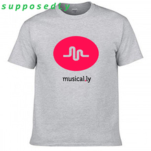 New Fashion Summer Women Harajuku Letter Musical .ly Geometric T- Shirts Short Sleeve Women and Men Lady Casual Vintage Tops(China)