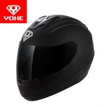 2017 New  YOHE Full Face motorcycle helmet YH-993 Full cover motorbike helmets made of ABS and PC Visor lens have 5 kinds colors