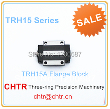 China low price Guia Linear Flange Block,  Linear cnc Guideway Carriage TRH15A=HGW15CA