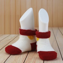 New Arrival 2Pcs White Children Feet Foot Mannequins Child Socks Sox Display Mannequin Showcase For Shoes