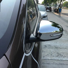 Auto Parts Accessories ABS Chrome Door Mirror Rearview Mirror Cover For Kia Sportage Kx5 2016