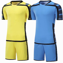 New Professional Football Uniform Men/Kids Customize Team game Soccer Sets Breathable Quick dry football shorts Training suit(China)