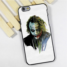 Fit for iPhone 4 4s 5 5s 5c se 6 6s 7 plus ipod touch 4 5 6 back skins phone case cover TWO SIDE OF THE JOKER BATMAN
