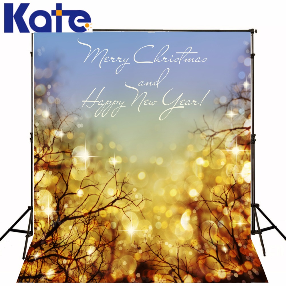 KATE Photo Background Christmas Backdrop Glitter Backdrop Background Photography Gold Tree Happy New Year Background Forstudio<br>