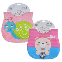 Mother Nest 2 Pcs/lot Waterproof Baby Bibs Babador Cute Cartoon Baby Feeding Fashion Bandana Baby Bibs Babet for Lunch(China)