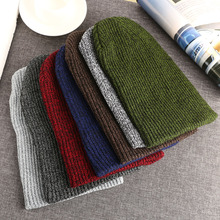 Fashion 1Pc Unisex Man/Woman Unisex Knit Baggy Beanie Winter Hat Slouchy Chic Knitted Cap Skull
