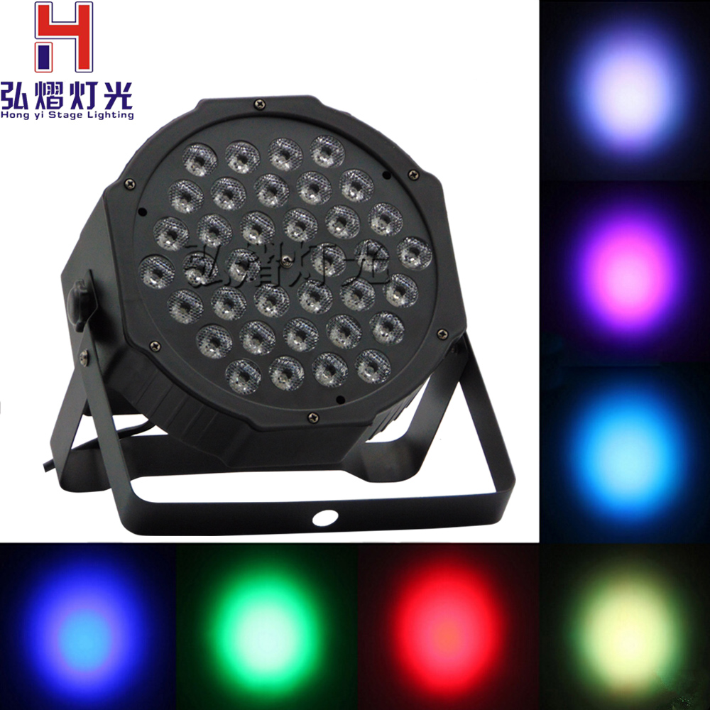High Power Hongyi Stage Lighting 36 X1w LEDs Sound Active Led Stage Par Light Disco DJ Projector Machine Party
