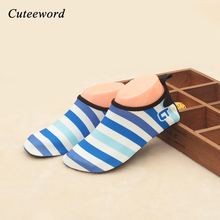 Buy Brand kids barefoot shoes girls boys slippers Children home ultra-light sports beach shoes slip swim soft skin water shoes for $5.79 in AliExpress store