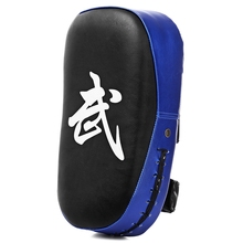 Lightweight PU Leather Square Punching Bag Sparring MMA Karate Muay Thai Boxing Pad Fitness Taekwondo Training Gear Foot Target(China)