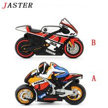 JASTER Motocycle USB flash drive cool moto pen drive moto memory stick USB 2.0 pendrive 4GB 8GB 16GB 32GB 64GB usb stick gift