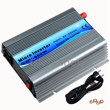 600W Grid Tie Inverter DC22V-60V to AC110V Pure Sine Wave Inverter Use For 24V/36V 60cells/72cells panel With MPPT Function(China)