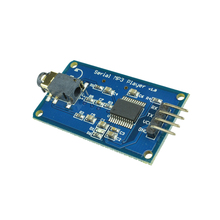 UART TTL Serial Control MP3 Player Module YX5300 3.2-5.2V DC Support MP3/WAV Micro SD Card for AVR/ARM/PIC for arduino Diy Kit