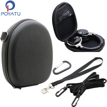 POYATU Earphone Carry Pouch For Plantronics Backbeat Sense Headphone Case For Plantronics Backbeat Headphone Box Bag Case(China)