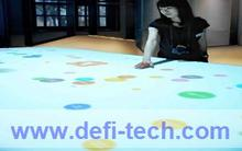 3D projection screen interactive floor projection system,