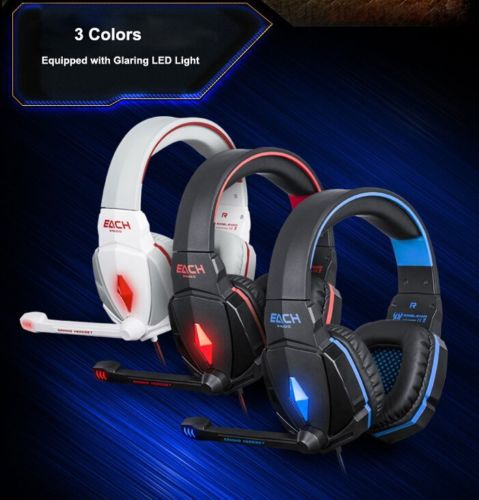 Surround Stereo Gaming Headset Headband Headphone USB 3.5mm LED with Mic for PC Computer<br><br>Aliexpress