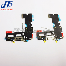 10pcs/lot For iPhone 7 7G charger charging dock port connector flex cable replacement parts