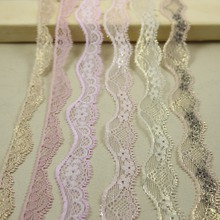 10 yards/lot  micro-Elastic micro-Stretch Lace trim DIY headband sewing/garment accessories