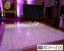 Special Products LED Starlit Dance Floor 10*10ft LED Star Ttile/Panel With Twinkling Star Led Floor Stage, Wedding, Nightclub
