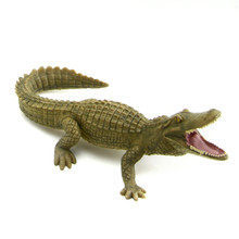 Starz PVC Animals World Chinese Alligator Crocodiles Static Model Plastic Action Figures Toys Gift for Kids
