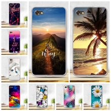 "Painting Cover for Alcatel A5 LED Phone Case Soft TPU Silicon Case for Alcatel A5 Led 5.2"" Cover Coque for Alcatel A5LED Bags(China)"