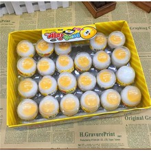 Whole sale white egg sand skin glue nose Mortar,  safe with non-toxic version of the whole trick puzzle creative Toys
