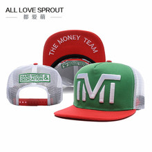2017 brand  Snapback hat TMT Hats Champion Baseball cap fashion visor Sports Mesh cap street skateboard  ALL LOVE SPROUT