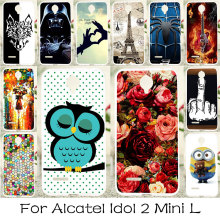 TAOYUNXI Silicone Phone Case For Alcatel OneTouch Idol 2 Mini L Cover 6014 6014d 6014X One Touch Idol2 Mini L Bag Shell Cover(China)