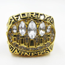 1994 San Francisco 49ers Championship Ring custom Big Size 11 replica ring Sport Jewelry(China)