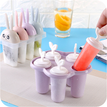 DIY Ice Lolly Cream Maker Ice Cream Popsicle Molds Food Grade Safety PP Material DIY Frozen Treats Freezer Cooking Tools