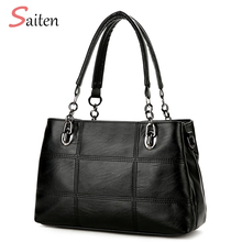 Buy Fashion Handbags Women Bag 2017 New PU Leather Casual Tote High Shoulder Bags ladies Hand Bags Bolsos Mujer Grandes for $21.51 in AliExpress store