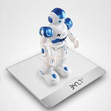 Original JJR/C R2 USB Charging Dancing Gesture Control RC Robot Toy Blue Pink for Children Kids Birthday(China)