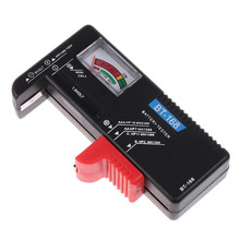 Professional Battery Tester Checker Useful Battery Diagnostic -tool for 1.5V & 9V Batteries