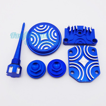 Blue Engine Dress Up Kit For 110cc 125cc YX Zongshen Pit Dirt bike Motorcycle(China)