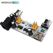MB102 Mini USB Interface Breadboard Power Supply Module MB-102 Module For Arduino White DC 7-12V 2 Channel Board
