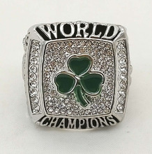 Factory Direct Sale New styles Factory price 2008 Celtics basketball championship ring replica(China)