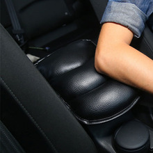 Car Auto Armrests Cover Vehicle Center Console Arm Rest Seat Box Pad Protective Case Soft PU Mats Cushion For Kia Rio K2 Mazda 3