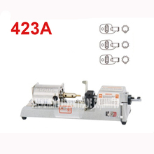 423A key cutting machine tube 220 V / 50 HZ locksmith key duplicating machine provides tools hollow plum key machine