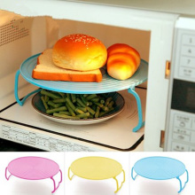 Multifunction microwave steaming bowls layered disc tray rack  double-insulated plate racks potholder,kitchen accessories.