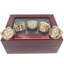 5pcs/set 1981 1984 1988 1989 1994 San Francisco 49ers Super Bowl world championship rings replica ring for Christmas gift(China)