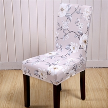 2pcs elegant soft covers for chairs loveseat slipcovers for living room floral printed office chair wedding chair hotel chair
