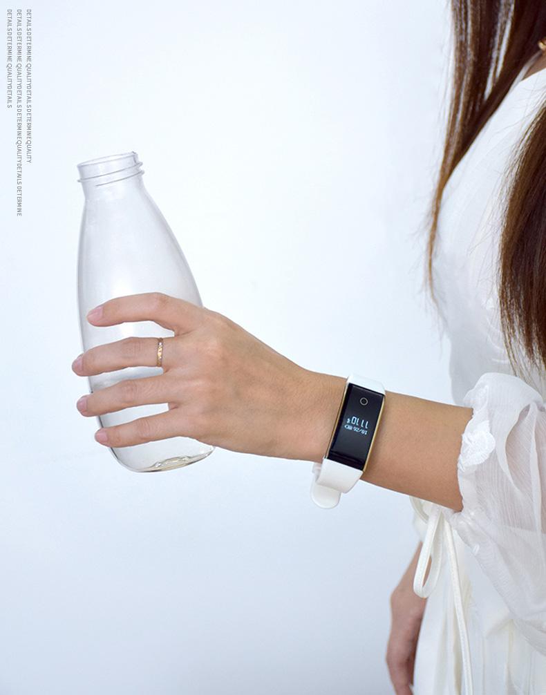Waterproof Android Pedometer + Blood Pressure & Heart Rate Monitor Wrist Watch 18