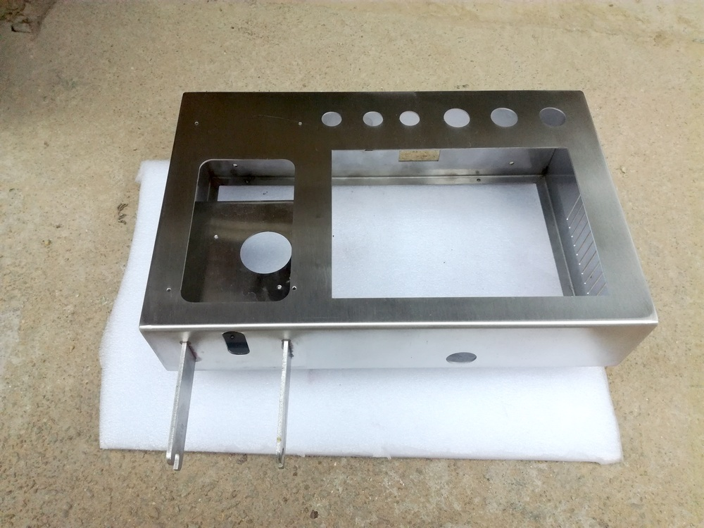 customer-made stainless steel  enclosure for cnc machine CAD PROE solidworks drawing  shell  case cabinet <br><br>Aliexpress