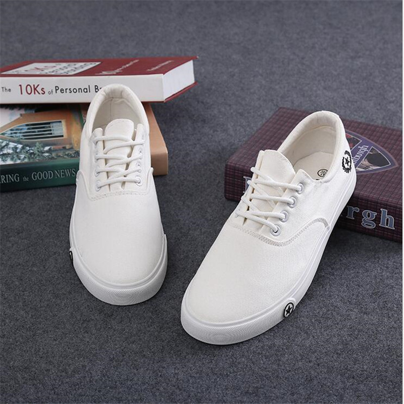 2017 New Spring Summer Men Shoes S Casual Breathable Fashion Canvas Man Flats 681 Free Shipping In Vulcanize From On